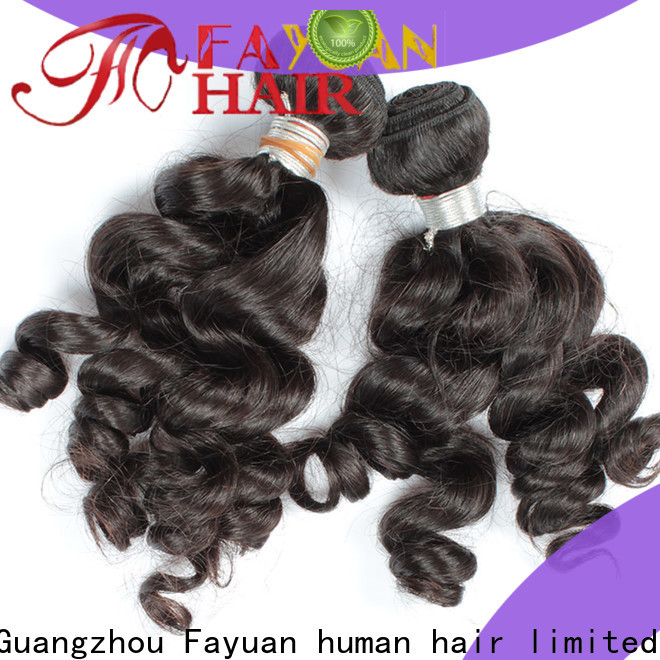 Fayuan Hair Best indian human hair Suppliers for barbershop