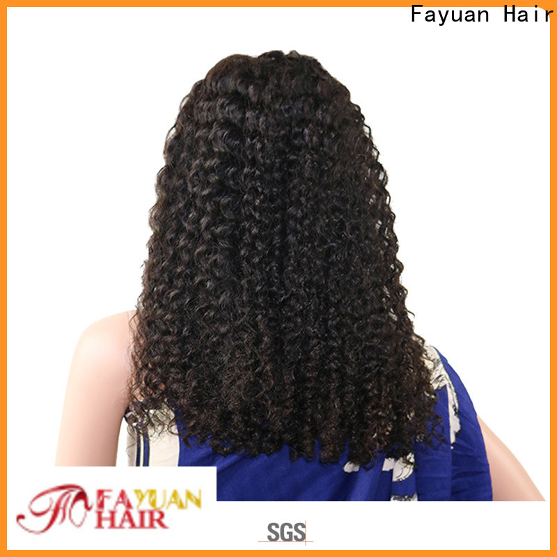 Fayuan Hair Latest good quality lace front wigs company for women