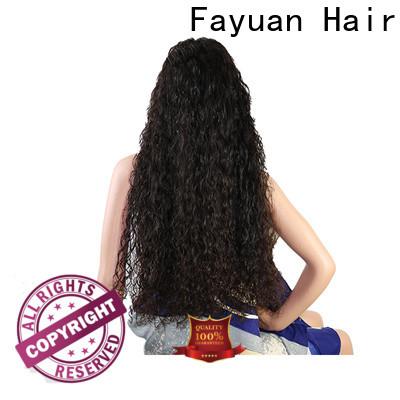 Fayuan Hair Wholesale custom virgin hair wigs factory for selling