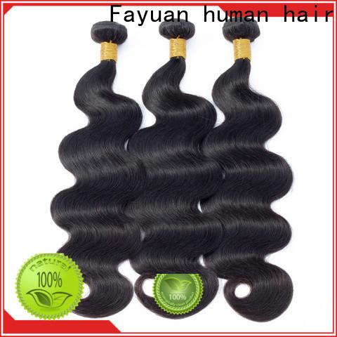 Fayuan Hair New peruvian hair bundles for sale company for barbershop