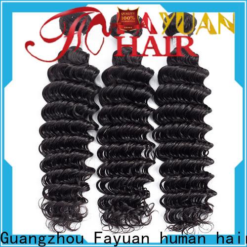 Fayuan Hair New peruvian hair bundle deals manufacturers for street