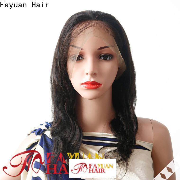Fayuan Hair grade wholesale full lace wigs company for barbershop