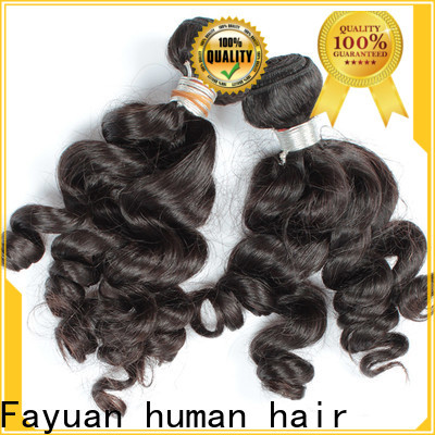 Fayuan Hair loose wholesale hair vendors in india manufacturers for street