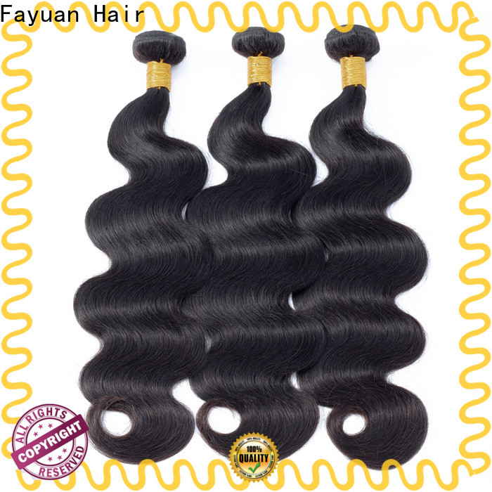 Fayuan Hair curly wholesale peruvian hair weave Suppliers for street
