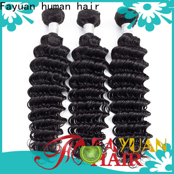 Fayuan Hair Wholesale peruvian deep body wave hair factory for selling