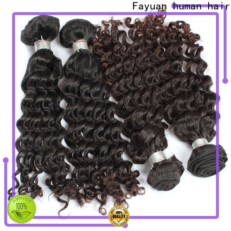 Fayuan Hair High-quality malaysian curly weave bundles company for women