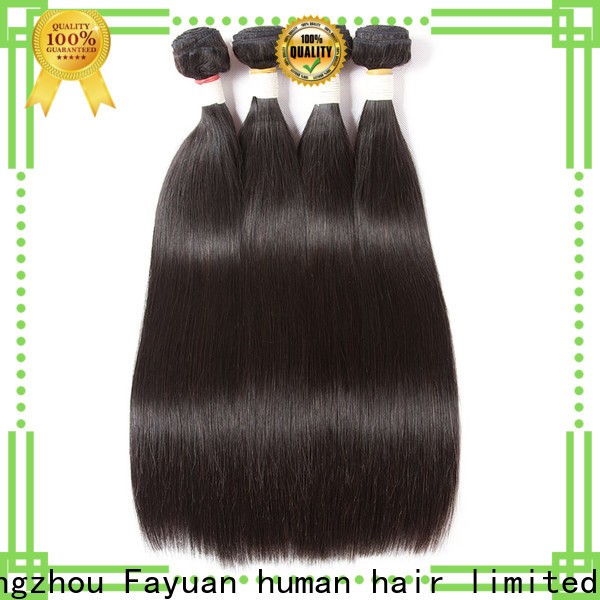 Fayuan Hair Top wet and wavy hair weave factory for women