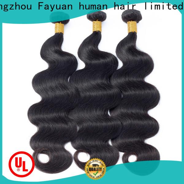 Fayuan Hair hair wholesale peruvian hair weave manufacturers for men