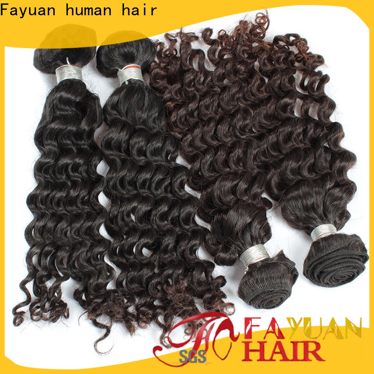 Fayuan Hair deep malaysian human hair weave for business for street