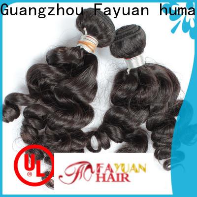 Fayuan Hair virgin real indian hair Suppliers for women