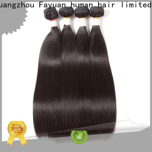Fayuan Hair human cheap brazilian curly hair bundles factory for barbershop