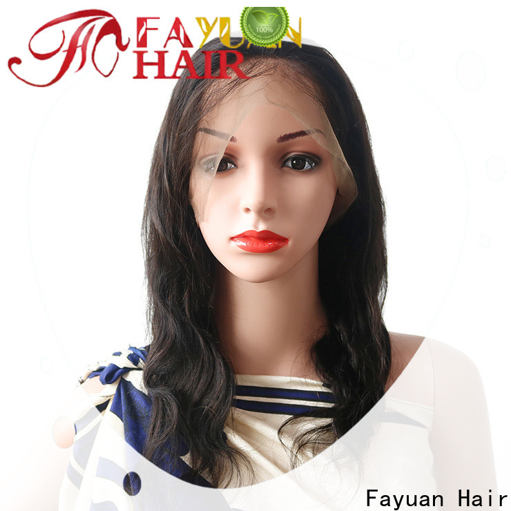 Fayuan Hair unprocessed lace wig for business for men