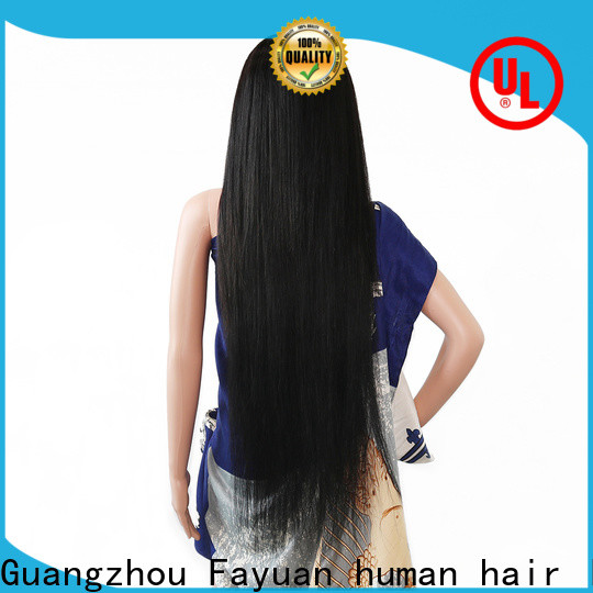 Fayuan Hair High-quality best custom lace front wigs manufacturers for men