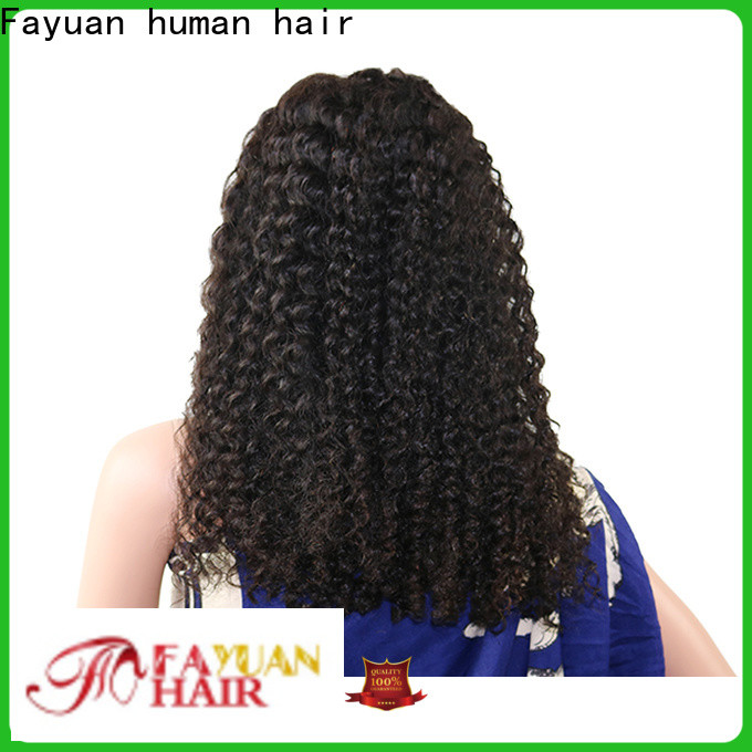 Fayuan Hair grade best lace front wigs company for barbershop