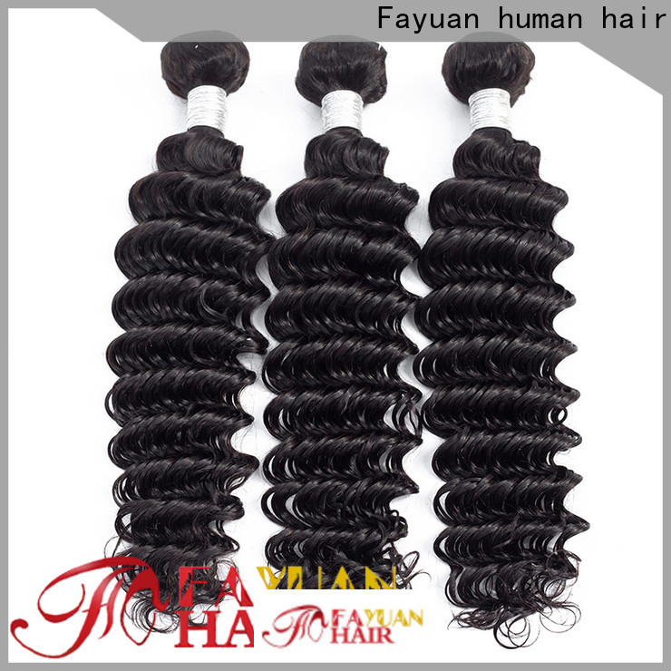 Fayuan Hair curly curly peruvian Supply for men