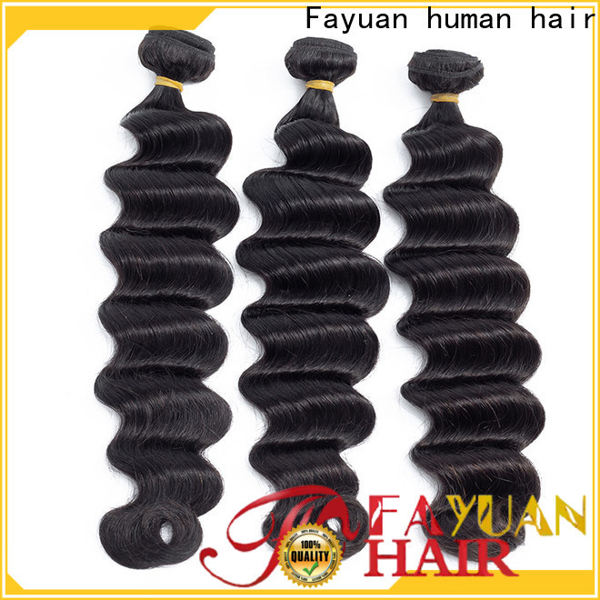 Fayuan Hair deep hair extensions suppliers for business for men