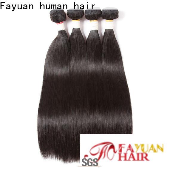 Fayuan Hair Best brazilian hair bundles wholesale company for street