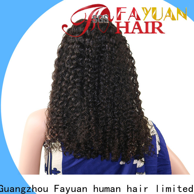 Fayuan Hair Custom swiss lace front wigs manufacturers for men