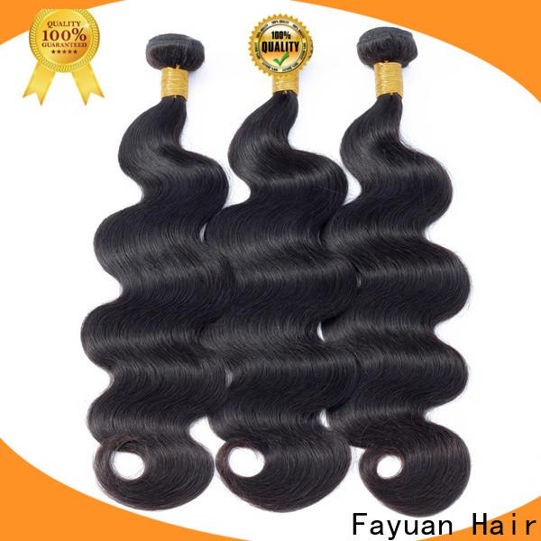 Fayuan Hair body peruvian hair for cheap manufacturers for men