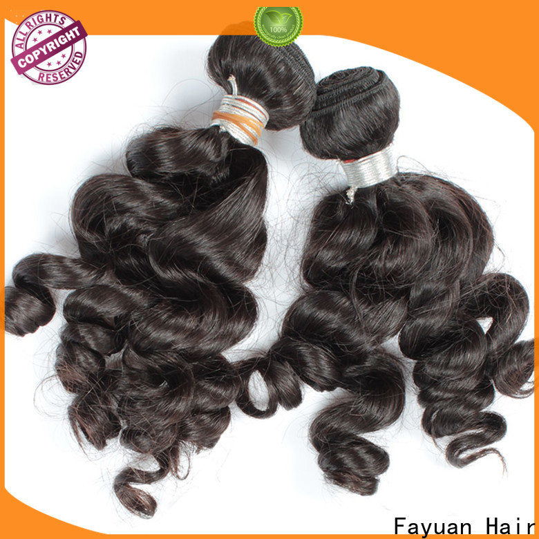 Fayuan Hair Latest curly hair extensions Supply for selling
