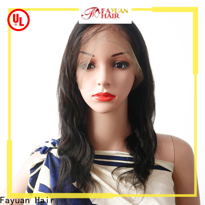 Fayuan Hair High-quality short full lace wigs for business for women
