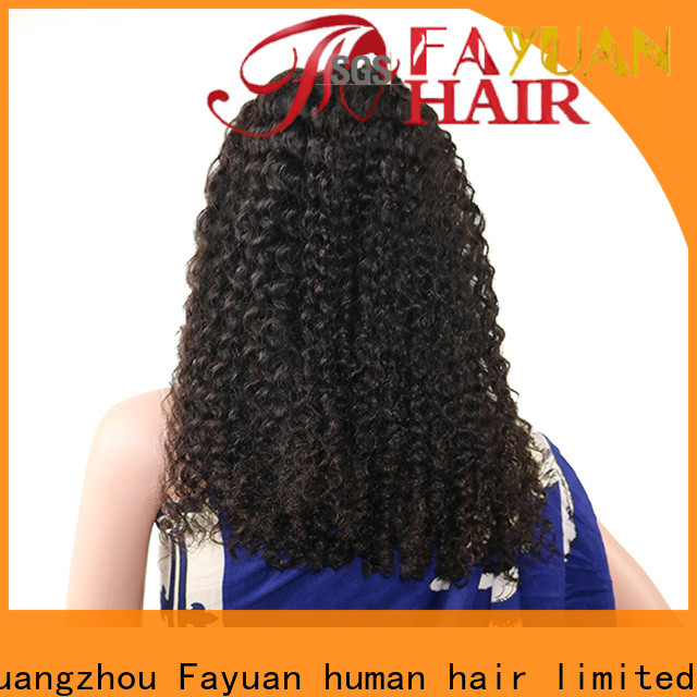 Fayuan Hair Wholesale affordable full lace front wigs Supply for barbershop