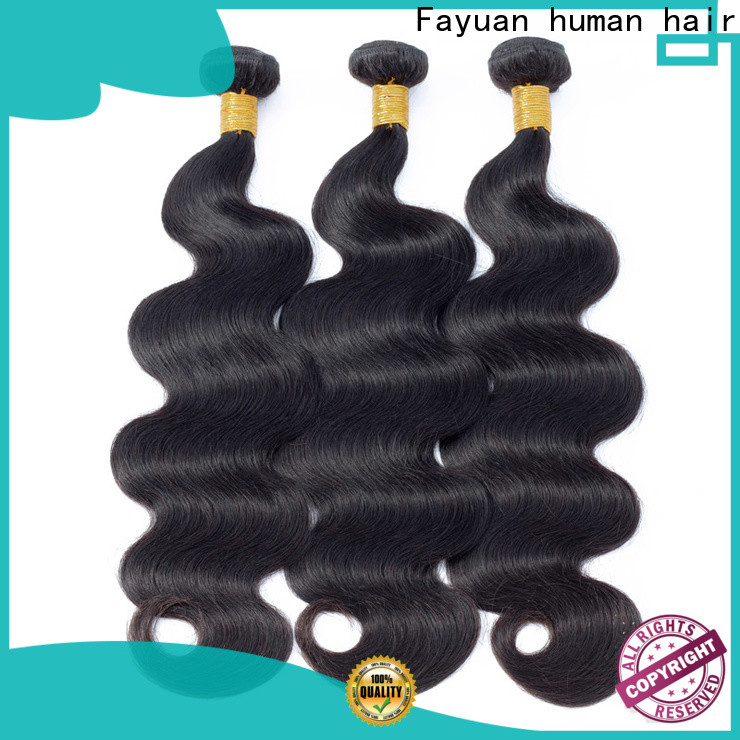 Fayuan Hair virgin the best peruvian hair Supply for men