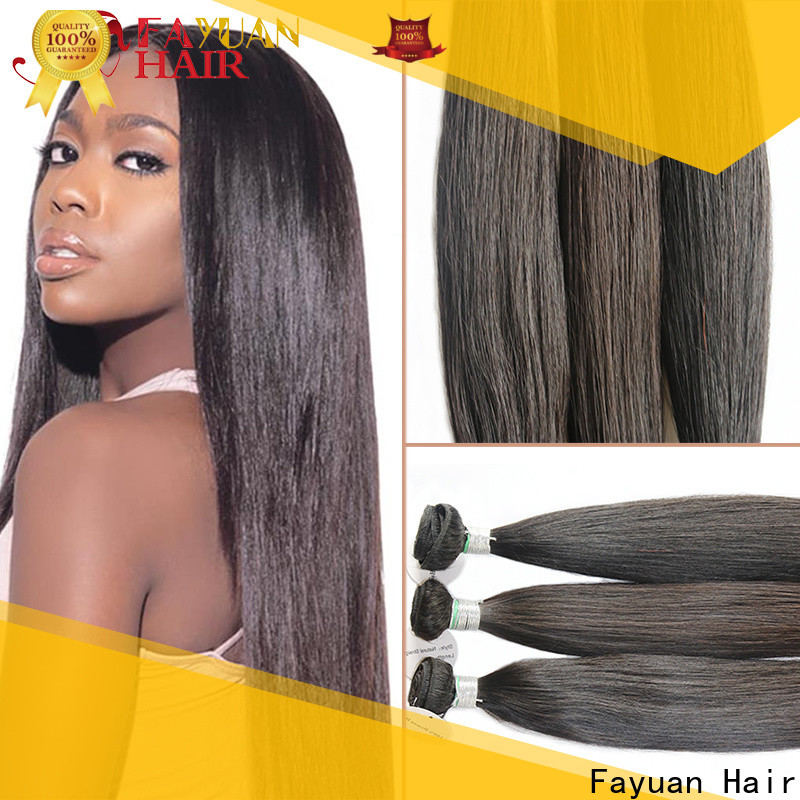 Fayuan Hair black high quality full lace wigs company for men