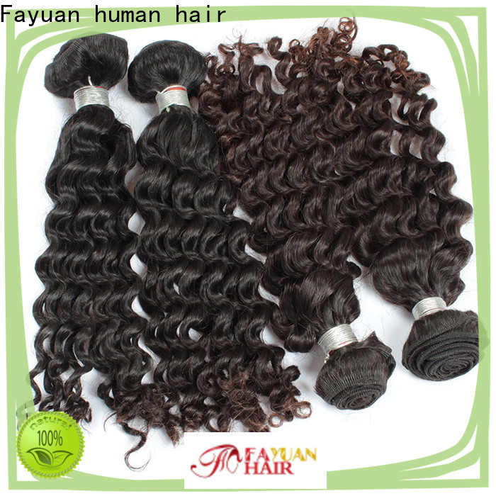 Fayuan Hair Best cheap malaysian curly hair bundles factory for men