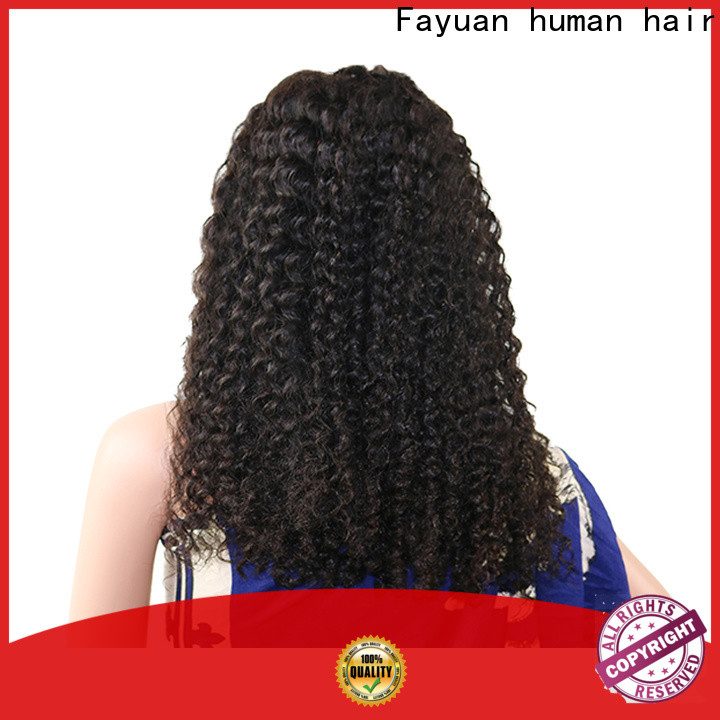 Fayuan Hair sales black hair lace front wigs for business for barbershop