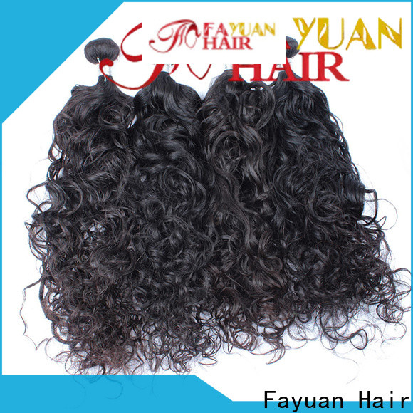 Fayuan Hair curl malaysian hair bundles for sale for business for street