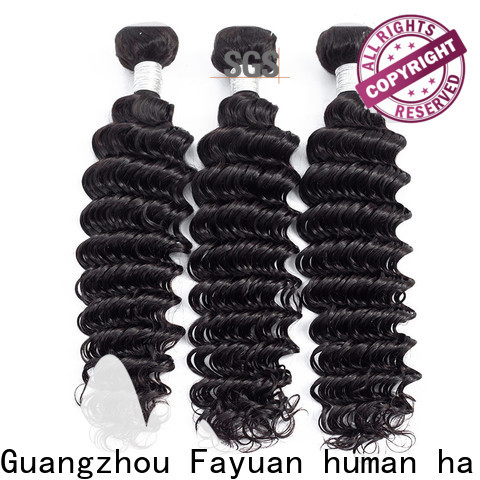Custom peruvian hair bundles hair factory for barbershop