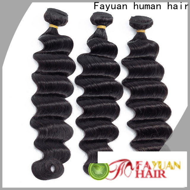 Custom indian remy hair wave factory for street