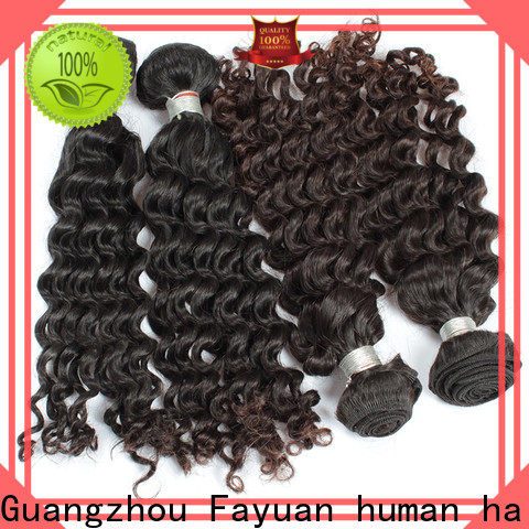 Fayuan Hair curl best malaysian curly hair for business for men