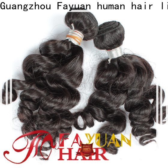 Fayuan Hair hair cheap indian virgin hair Suppliers for street