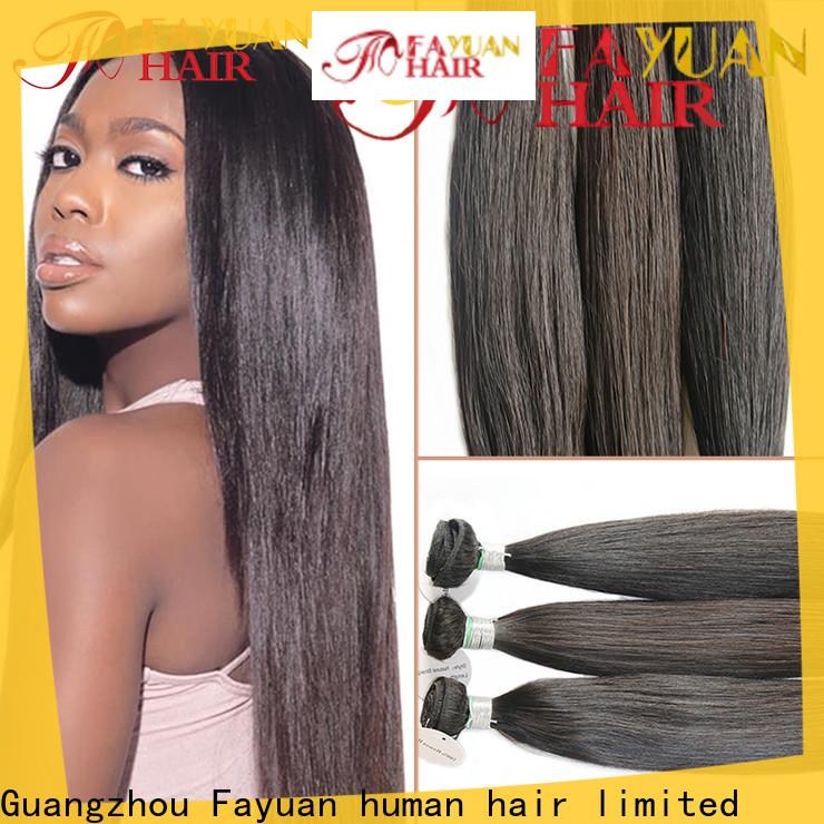Fayuan Hair brazilian good lace wigs manufacturers for barbershop