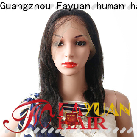 Custom best human lace wigs human manufacturers for barbershop