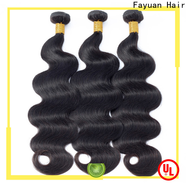 Fayuan Hair body peruvian hair bundle deals for business for barbershop