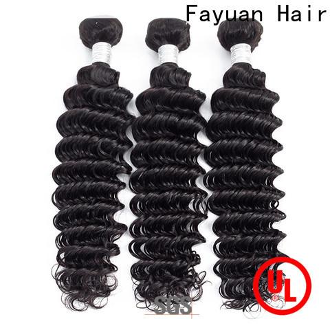 Fayuan Hair grade peruvian hair bundles for cheap Supply for men