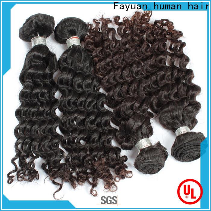 Fayuan Hair loose cheap malaysian hair bundles Supply for street