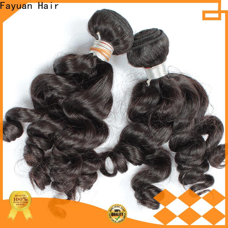 Fayuan Hair hair indian remy hair company for street