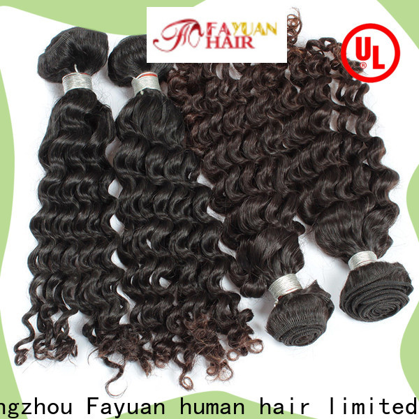 Fayuan Hair Best virgin malaysian curly hair Supply for men