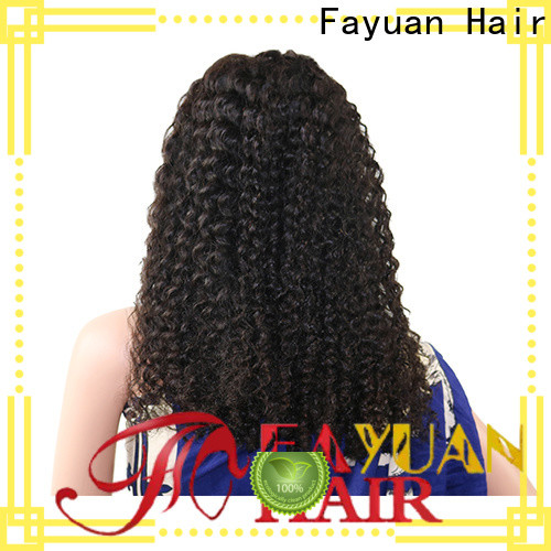 Fayuan Hair Custom human hair lace wigs Supply for men