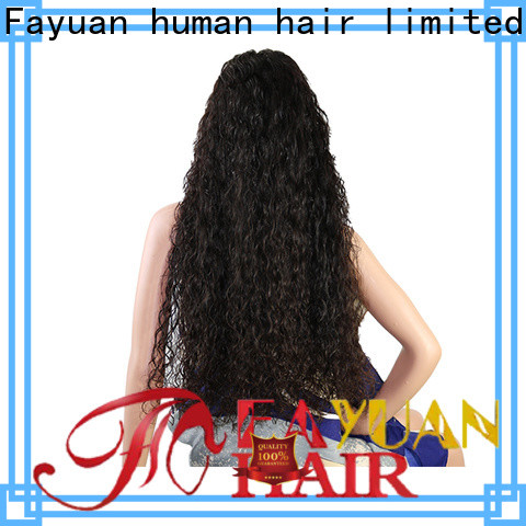 Fayuan Hair sales custom made lace front wigs factory for barbershop