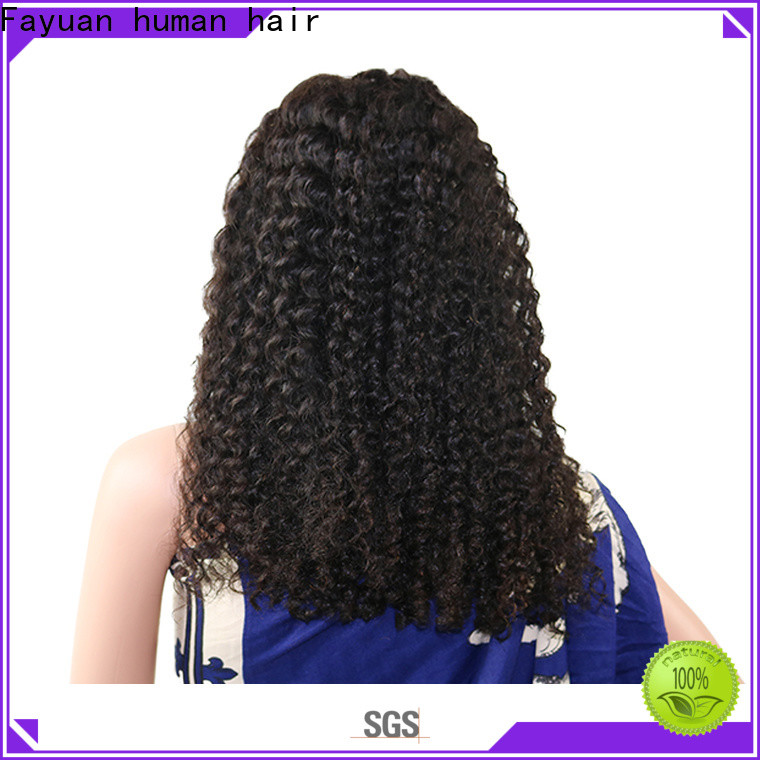 Fayuan Hair New low price lace front wigs factory for selling