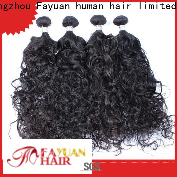 Fayuan Hair Wholesale cheap brazilian hair manufacturers for men