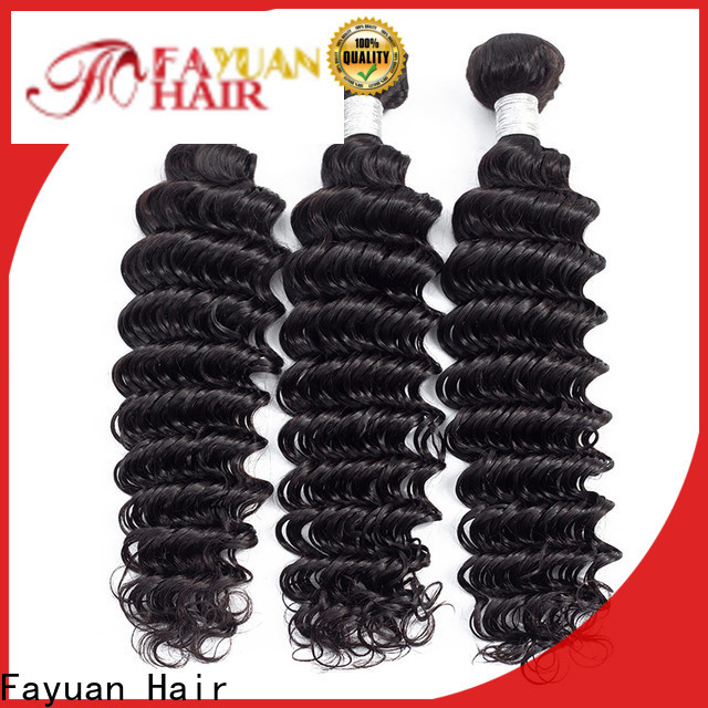 Fayuan Hair Custom black hair extensions for business for selling