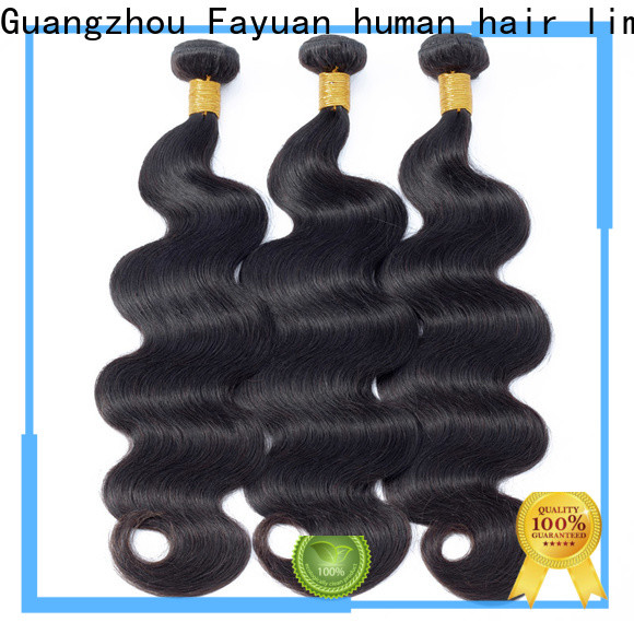 Fayuan Hair wave peruvian hair weave for sale Suppliers for barbershop
