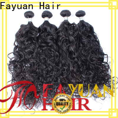 Fayuan Hair human virgin malaysian curly hair bundle deals for business for street