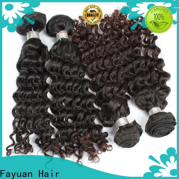 Fayuan Hair grade malaysian wave hair factory for men